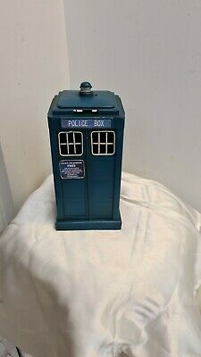 NEW UNUSED Doctor Who Rule #1 The Doctor Lies Metal Business Card Holder Tardis