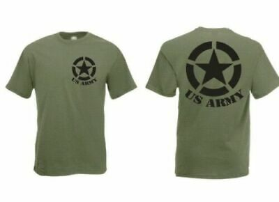 US ARMY T-shirt homard Allied Star 3-5xl h1 Top 4x4 Off-road US CAR CAMION Oldi