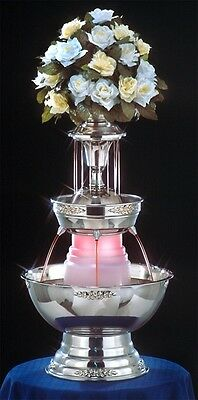 "28"" Apex Stainless Steel Champagne Punch Beverage Wedding Fountain 3 Gallon"