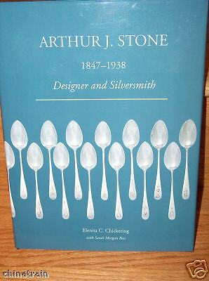 Arthur J Stone Sterling Silver Book -Hard Cover- Teapot