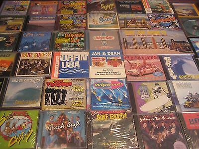 1000+ Surf Instrumentals 41 Titles 56 Cd's  All The Greats Dale Sandals Ventures