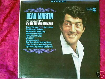 """DEAN MARTIN """"I'M THE ONE WHO LOVES YOU"""" LP 1965 STEREO"""