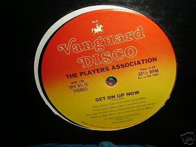 12 Inch Players Association Get On Up Now / Let Your