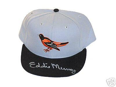 Eddie Murray Autographed Baltimore Orioles Hall Of Famer   Hat