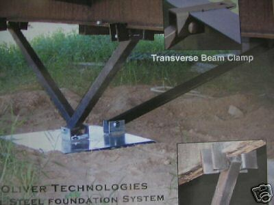 MOBILE HOME PARTS - OTI All Steel Foundation System ... on house beams, log home beams, cape cod beams,