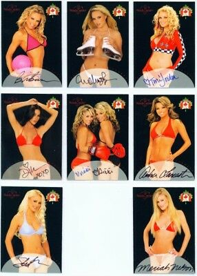 """8 Card Canadian Autograph Set"" Benchwarmer 2004 Series 2 Canadian"