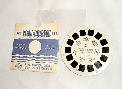 View-Master #2025 Basle - 1947 copyright date
