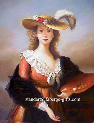 FRENCH Oil Painting of Madamme LEBRUNN