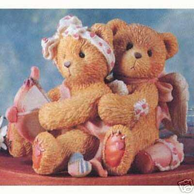 Enesco Cherished Teddies Aiming For Your Heart #103594