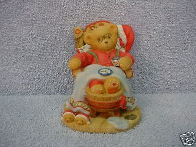 Enesco Cherished Teddies Santa