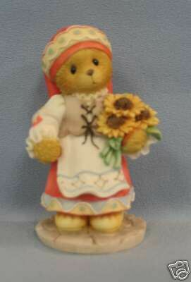 Enesco Cherished Teddies Nadia...From Russia with Love