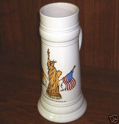 1989 Tall German-American Wander-Club Stein