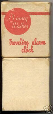 Phinney-Walker Traveling Alarm Clock PW 28 Box Only