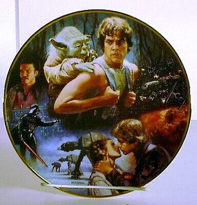 Star Wars Empire Strikes Back Trilogy Collection Plate