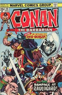 CONAN THE BARBARIAN MARVEL 48 1970 1st SERIES VF