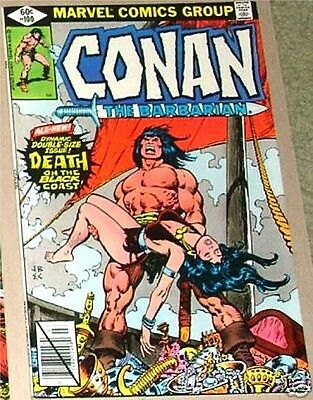 Conan The Barbarian Marvel 100 Rare Key Death Of Belit Vf 52 Page Giant Size