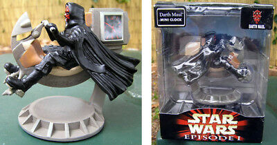 Star Wars Darth Maul Sculped Mini Clock