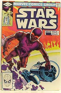 Star Wars Comic Book #58- Marvel Comics- Original