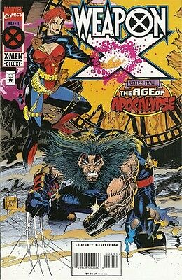 Weapon X 1 1995 Age Of Apocalypse Marvel High Grade Wolverine Nm