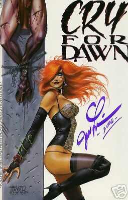 Cry for Dawn #2 2nd print signed Joe Linsner