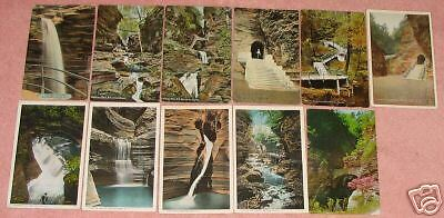 11 Watkins Glen, New York Postcards