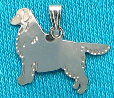 Golden Retriever Jewelry Silver Dog Only Pendant 32 50 Picclick