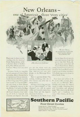 New Orleans Mardis Gras Southern Pacific RR AD 1929