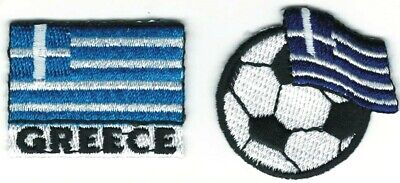 Soccer Football Greece Embroidery flag Patch