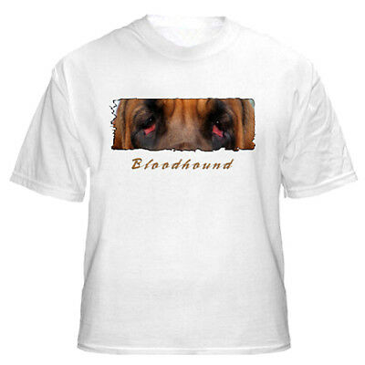 "Bloodhound  "" The Eyes Have It ""  Custom Made  Tshirt"