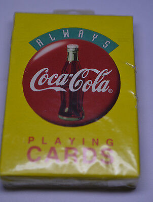 Unopened Playing Cards Advertising Coca-Cola 1994