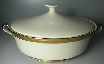 Lenox Aristocrat Round Covered Vegetable Bowl & Lid