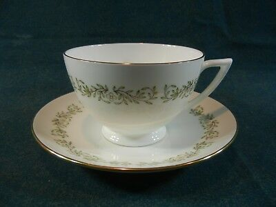Minton April Pattern S732 Bone China Cup and Saucer Set(s)