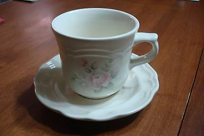 Pfaltzgraff Tea Rose Cup And Saucer