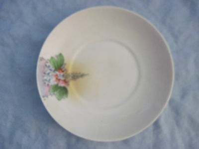 Gorgeous Hand Painted Nippon Floral Plate
