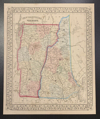 """Mitchell: """"New Hampshire and Vermont,"""" 1874"""