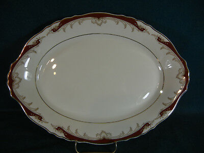 "Syracuse Radcliffe Oval 14"" Serving Platter(s)"