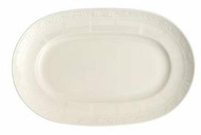 Villeroy Boch Cameo White Weiss Oval Pickle Dish New