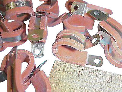 "Adel, 45D5H11, 11/16"", orange, cable clamp, lot/25"