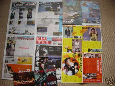 INITIAL D Japan flyer poster set EDISON CHEN Shawn YUE
