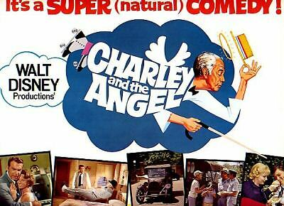 Title Card 1973 CHARLEY AND ANGEL Disney MacMurray