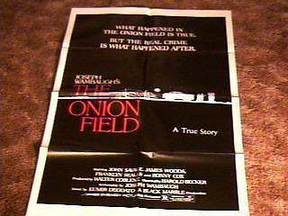 ONION FIELD MOVIE POSTER JAMES WOODS 1979