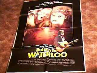 Return To Waterloo Movie Poster Ray Davies 1985 Kinks