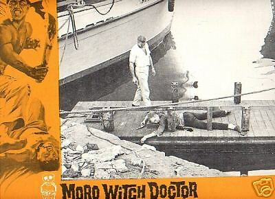 Lobby Card 1964 MORO WITCH DOCTOR jungle fever Mahoney