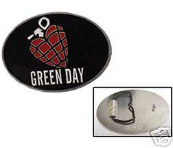 Green Day Metal Pewter Belt Buckle