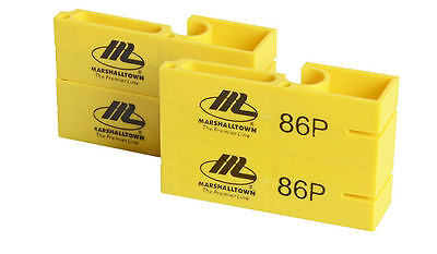 MARSHALLTOWN YELLOW PLASTIC String Line Blocks / Markers For Brick Work M/T86P