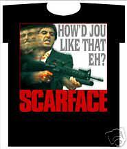 Scarface ~ How Djou Like That Eh ~ New Large Shirt