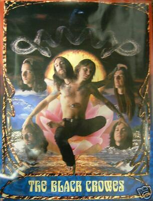 """BLACK CROWES - """"severed heads"""" promo poster, 1996"""