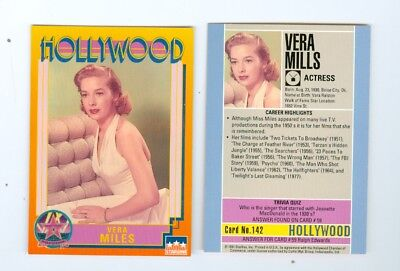 Vera Miles Hollywood Walk of Fame card 142