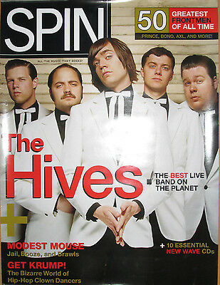 THE HIVES Spin Magazine promotional poster, 2004, 18x24, EX, punk rock