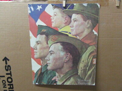 Growth of a Leader, Rockwell Scout Print,     cp